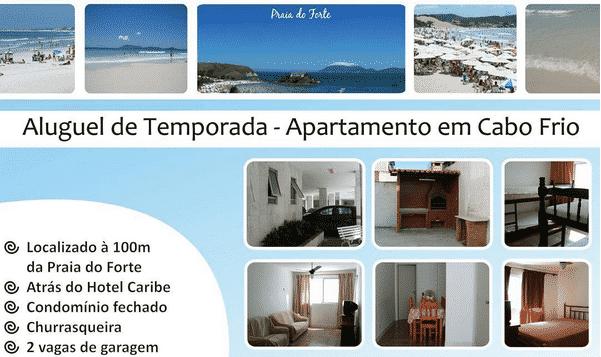 Layout | Flyer Para Aluguel De Apartamentos Em Cabo Frio
