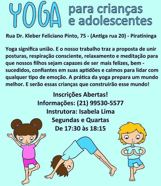 Layout | Yoga Para Crianças